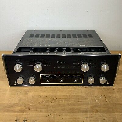 McIntosh C28 Stereo Preamplifier, Excellent Plug And Play Ready, Brand New Glass