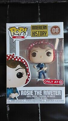 Funko Pop! American History #08 Rosie The Riveter Target Exclusive Mint In Hand