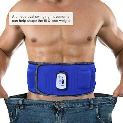 Electric Body Vibrating Slimming Belt Heat Function Massage Full Body Weight