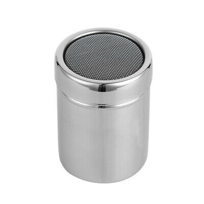 Chocolate Shaker Cocoa Flour Icing Sugar Powder Coffee Sifter Stainless Coffee