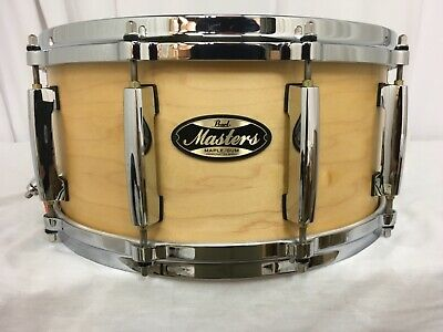 """Pearl Masters MMG 14"""" Snare Drum/Hand Rubbed Natural Maple/#186/Maple-Gum Shell"""