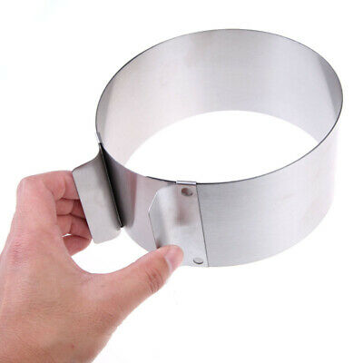 Stainless Steel Round Circle Cookie Fondant Cake Mold Cutter Pastry Tool Safe