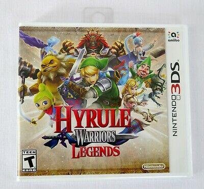 Hyrule Warriors Legends (Nintendo 3DS 3DS XL, 2016) Video Game Brand New Sealed