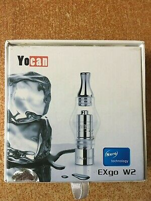 Yocan EXgo w2 Nero technology concentrate tank (100% Authentic)