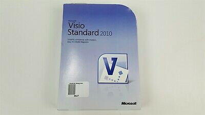 Microsoft Office Visio Standard 2010 with key - retail - D86-04533