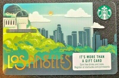 New Starbucks Los Angeles Design For 2019 Gift Card - New & Collectible