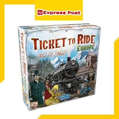 Brand new TICKET TO RIDE Europe Original Family Board Game Great Gift Idea