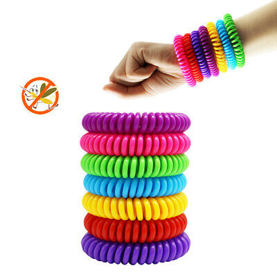 4Pcs Anti Mosquito Natural Wrist Band Insect Repellent Mosquito Killer Bracelets