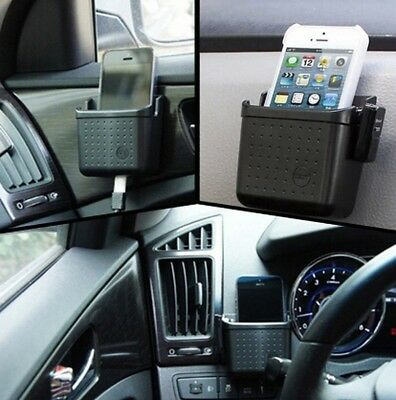 Pouch Home Organizer Bag Car Storage Box Auto Phone Charge Holder Applicable