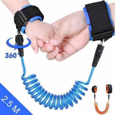 Toddler Kids Baby Safety Walking Anti-lost Harness Strap Wrist Leash Belt Hand d