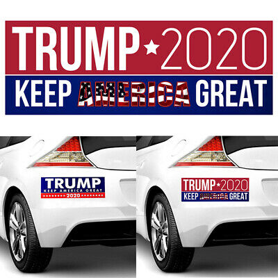 10x Donald Trump Car Stickers For President 2020 Keep America Great Bumper CA 2h