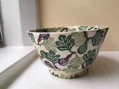 Emma Bridgewater 'Figs'  Old Bowl. First Quality. Collectors Club Exclusive
