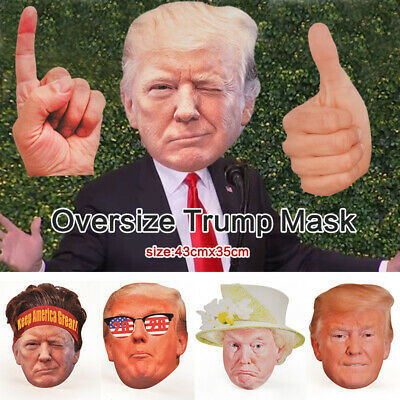 WR Donald Trump Mask Presidential Halloween Props Costume Cosplay Party Gifts