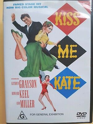 Kiss Me Kate [ Region 4 DVD ] LIKE NEW, FREE Next Day Post from NSW