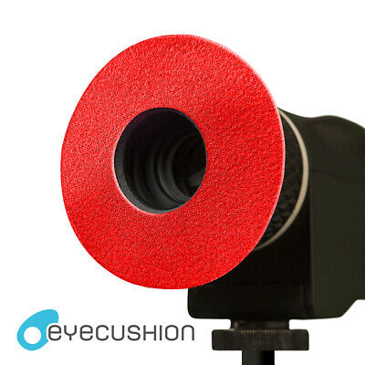 Eyecushion Red Microfiber Round S for RED Bomb EVF Eyepiece