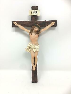 Hanging Wall Cross Resin Crucifix Corpus Christi Jesus Christ Religious Ornament