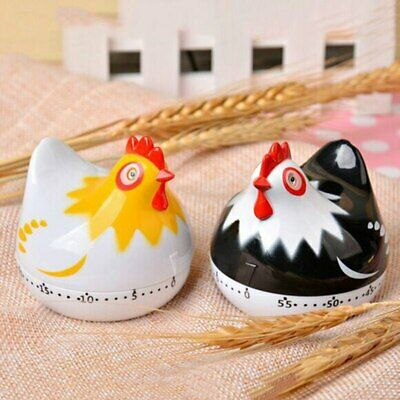 Kitchen Timer Clock Cute Hen Shape Cooking Countdown Kitchen Cooking Mechanical