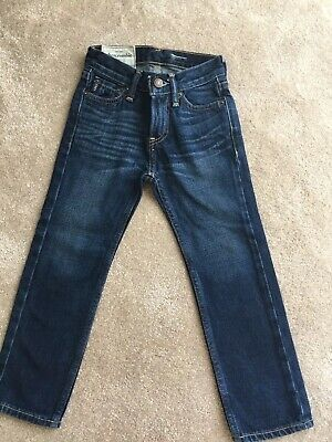 boys abercrombie And Fitch Jeans Straight Leg  Size 6yrs