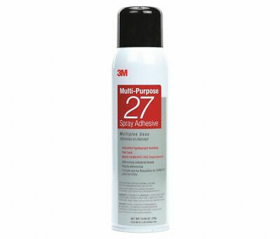 3M Multi-Purpose 27 Spray Adhesive Clear - Case of 10 Cans (Adhesive en Aerosol)