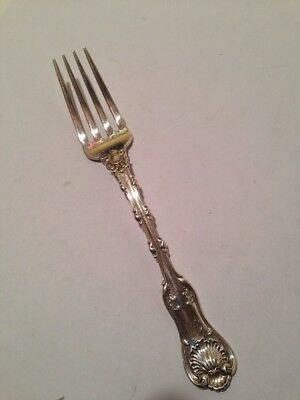 Whiting Imperial Queen (1893) Sterling Silver DESSERT Fork - Monogrammed