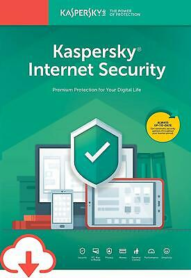 Fast Kaspersky Internet security 1 device  2019 1 year