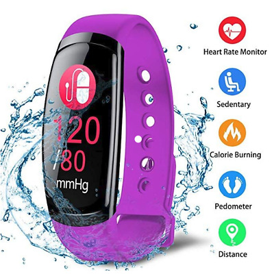 Fitness Tracker, Activity Tracker Smart Heart Rate/Blood Pressure/Sleep Monitor