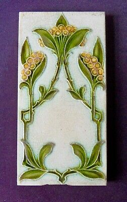 "Original  English Pilkington, Art Nouveau tile c1905/6 3'X6 ""Tile ref  469284 A"