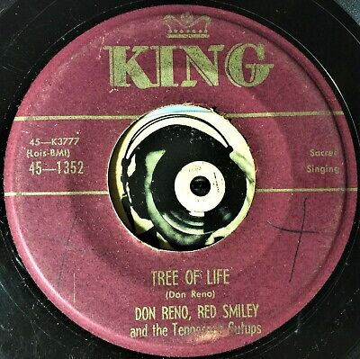 Don Reno Red Smiley 45 Country Tree OF Live Someone Will Love You In Heaven VG