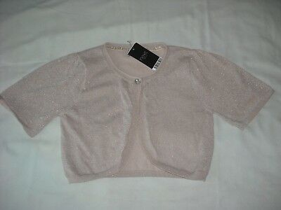 **BNWT** REDUCED TO CLEAR ~ NEXT GREY VELOUR ZIP UP TOP AGE 6 years