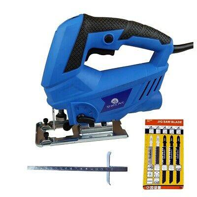 600W Electric Jigsaw Compact Cutting Variable Speed Wood Metal Power Corded
