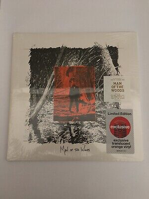New Justin Timberlake Man Of The Woods / Orange Vinyl Target Limited Edition New