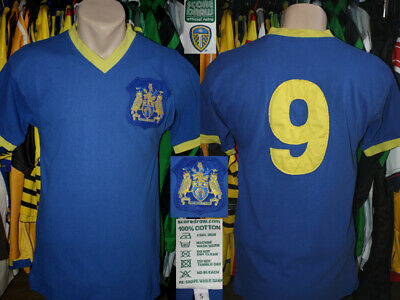 Retro Replica LEEDS UNITED The Peacocks 9 Score Draw 1959/1961 Home Jersey Shirt