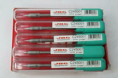 5 Pack JBC Tools C245001 Replacement Cartridge Conical 0.6mm