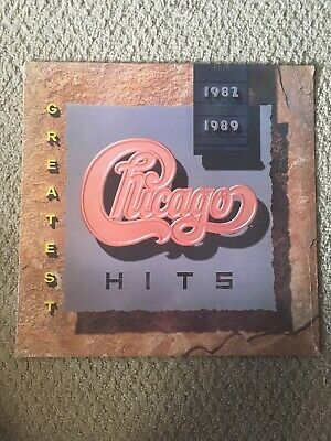 Chicago Greatest Hits 1982 1989 Vinyl LP Peter Cetera Unopened Sealed NEW