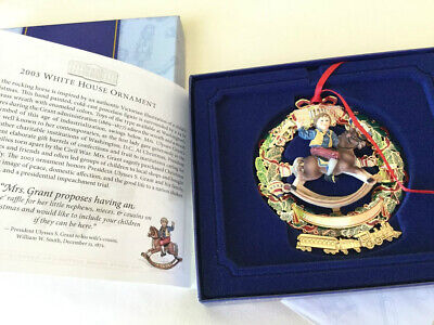 2003 White House Christmas Ornament Ulysses S. Grant excel Cond.