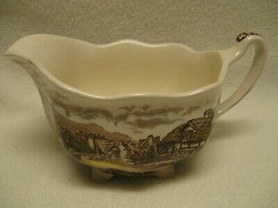 Johnson Brothers Olde England Countryside Multicolor Creamer in VGUC