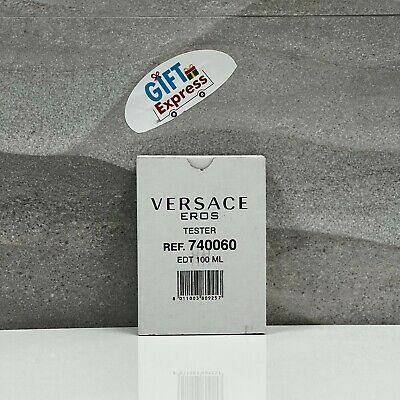 Versace EROS Cologne for Men by Versace EDT  3.4 oz  with Cap BRAND NEW TESTER
