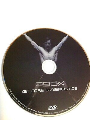 P90X EXTREME HOME Fitness Workout Replacement Disc #8 Core