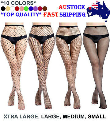 Fishnet Stockings Pantyhose Sexy Fashion Womens Lady Mesh Net High Waist Tights