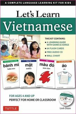 NEW Let's Learn Vietnamese Kit By Linh Doan Activity Kit Free Shipping