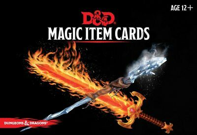 Dungeons and Dragons Rpg 5th Edition - Magic Item Cards
