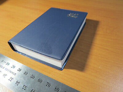 2020 Diary SMALL Pocket (78 x 112x 18 mm) Day To Page Navy Flex Slip Cover