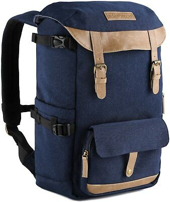 K&F Concept DSLR SLR Camera Backpack Bag Case for Canon Nikon Sony Travel Bag