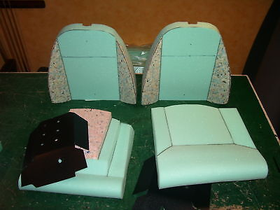 spitfire 1500 & gt6 SEAT FOAM SET 2 tops2 bases incl.base boards.Europe post £35