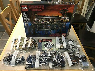 Lego 75810 Stranger Things - NO MINIFIGURES & NO TRUCK - FREE P&P