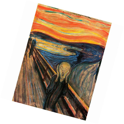 A3 A2 A4 size EDVARD MUNCH THE SCREAM CANVAS PAINTING REPRO A1
