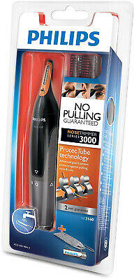 Philips Trimmer Nose Nasal Ear Eyebrow Hair Remover Series 3000