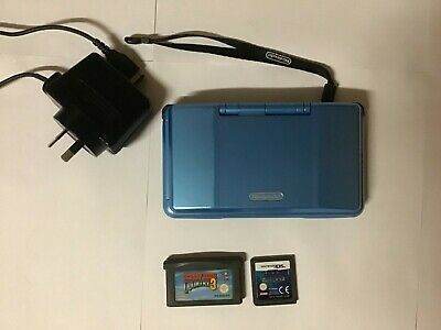 Original Nintendo DS + Charger - Blue - Console & Games