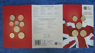 "2011 ""Celebrating Great Britain"" Commemorative Coins of the Year - 13 Coin Set"