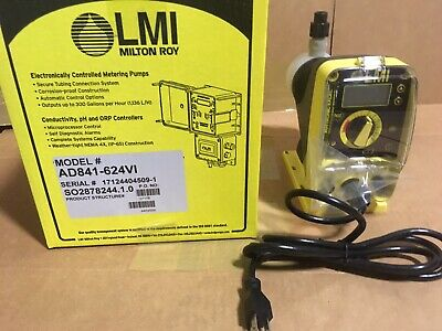 LMI Chemical Metering Pump AD841-624VI .5 GPH PP High Visc. External Control